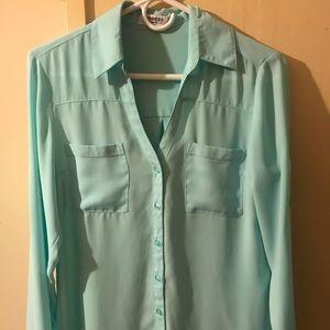 Turquoise Portofino shirt